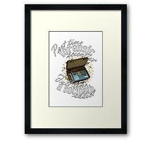 Full Time A Sociopath Addict Framed Print