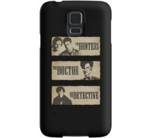 The Hunters, The Doctor and The Detective (Matt Smith version)  Samsung Galaxy Case/Skin