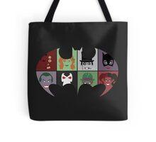 Bat Villains Tote Bag