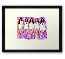 Fifth Harmony Spalsh! Framed Print