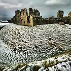 Ogmore Castle by Richard Lewis