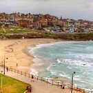 Bronte Beach on a quiet midweek summers day by Michael Matthews