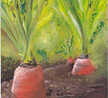 Carrots for life by Antje Bednarek-Gilland