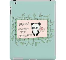 Pandas against the Patriarchy iPad Case/Skin