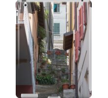streets of a village typical iPad Case/Skin