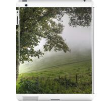 Foggy day in the countryside iPad Case/Skin