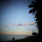 A Waikiki Beach Sunrise by Adam Kuehl