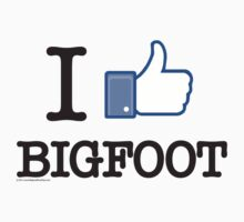 I Like Bigfoot  by thebigfootstore