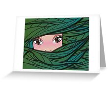 Fairy forest girl Greeting Card