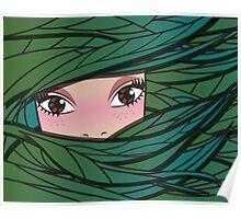 Fairy forest girl Poster