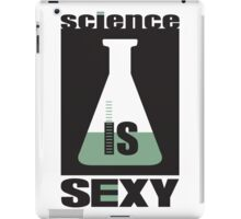 science is sexy iPad Case/Skin