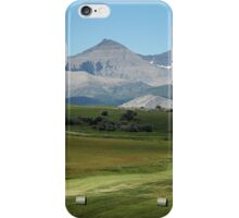 Farming, Foothills and Mountains iPhone Case/Skin