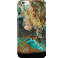 Botryoidal Malachite with Shattuckite iPhone Case/Skin