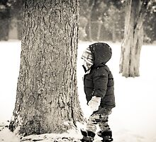 Little boy in winter by Gotcha  Photography