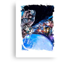 Borderlands - The Pre Sequel Canvas Print