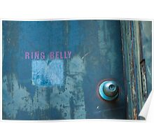 Ring Belly Poster