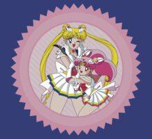 Sailor Moon & Sailor ChibiMoon T-Shirt