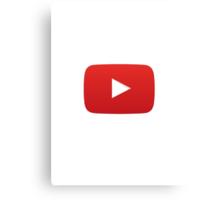 Youtube Canvas Print