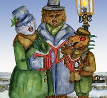 Caroling Cryptids by Kim  Harris