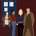 The Tenth Doctor and his women by clockworkheart