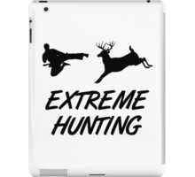 Extreme Hunting Karate Kick Deer iPad Case/Skin