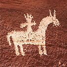 Wolf Ranch rock art .2 by Alex Preiss