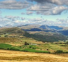 The Duddon Valley and The Scafell Range by Jamie  Green