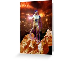 Aliens Frieza Perfect Form Greeting Card