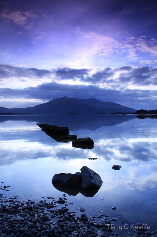 reflections of killarney by Terry O Keeffe