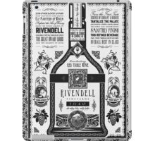 Lord of the Rings Rivendell Wine Vintage Geek Art iPad Case/Skin