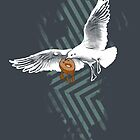 Seagulls Vs. Bagels by Chris Risse
