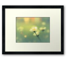 OLIVE JUICE Framed Print
