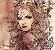 Priestess by NiaFarrellArt