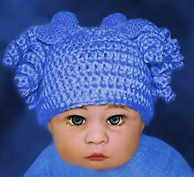 ADORABLE BABY BLUE - PICTURE - CARD by ╰⊰✿ℒᵒᶹᵉ Bonita✿⊱╮ Lalonde✿⊱╮