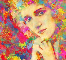 Mary Pickford by solnoirstudios