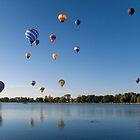 Pikes Peak Balloon Festival, Colorado by Jeff Chavez