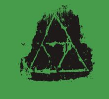 Painted Grunge Triforce by Reddo