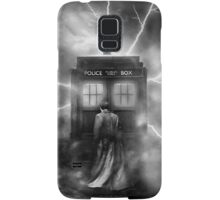 Ligtning Into The Public Police Call Box Samsung Galaxy Case/Skin