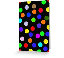 NEW TO REDBUBBLE - SPOTTY IPC Greeting Card
