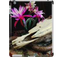 Western Union - Cactus With Orchids iPad Case/Skin