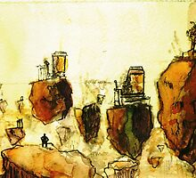 Floating Islands by Chasm