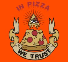 In Pizza We Trust Kids Clothes