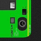 Disposable Camera - Green by killerturnip