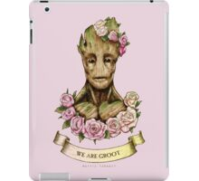We are Groot...  iPad Case/Skin