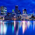 Glowing City Of London by Gavin Ward