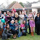 Gran with her grandchildren and families 2014 by janetJ