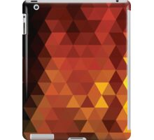 Abstract geometric colorful background, pattern design iPad Case/Skin