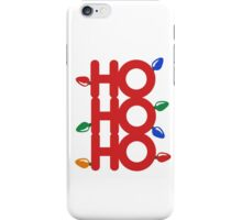 ho ho ho iPhone Case/Skin