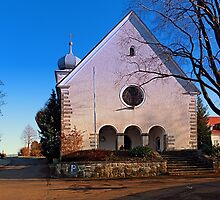 The village church of Klaffer I | architectural photography by Patrick Jobst
