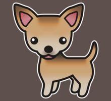 Sable Smooth Coat Chihuahua Cartoon Dog Kids Clothes